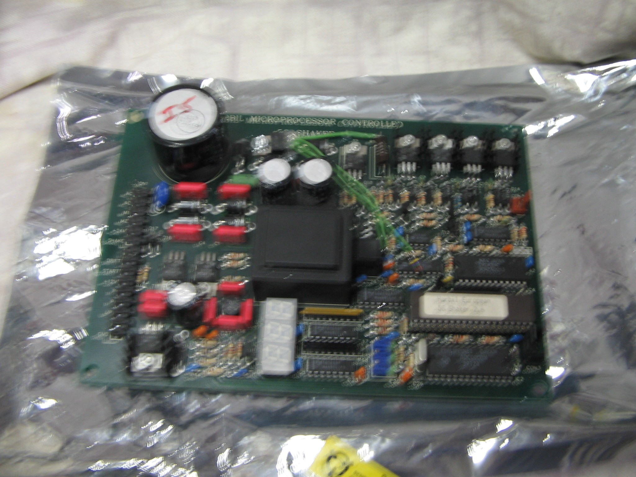 PC Board Encoder Wheel and Counter (5g5108324r)