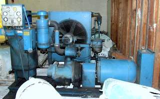 Quincy Rotary Screw 50HP Air Compressor